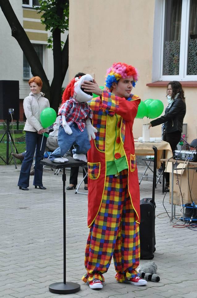 Występ klaun
